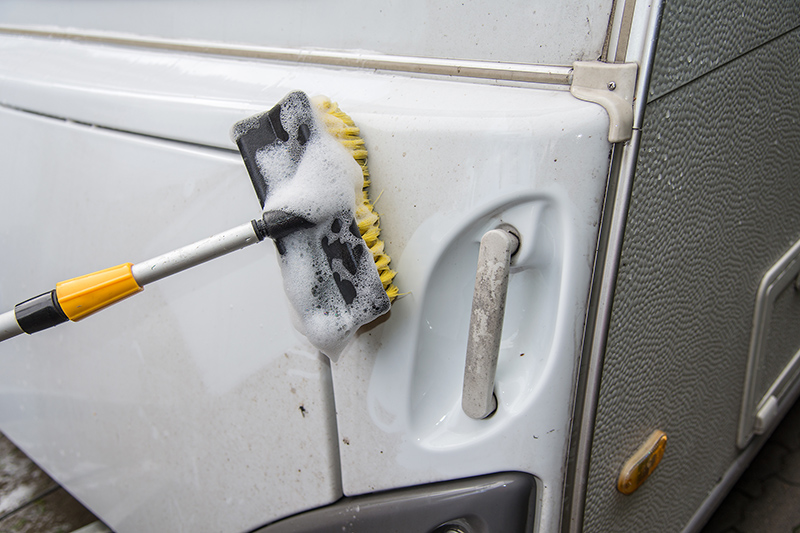 Caravan Cleaning Services in York North Yorkshire